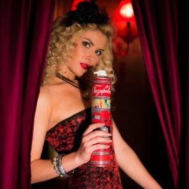 Gazirovka n°1 burlesque advertising